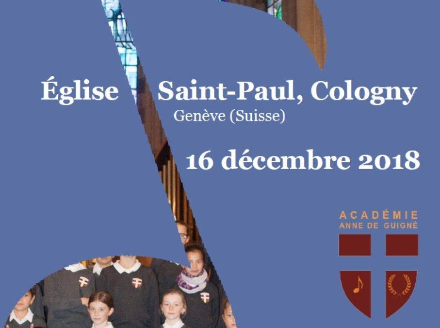 Concert de la Maîtrise Anne de Guigné