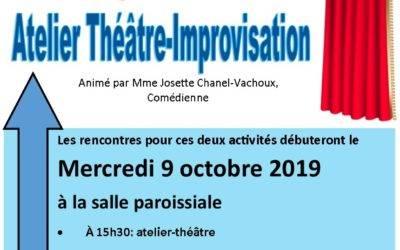 Atelier Théâtre et Chorale d'enfants